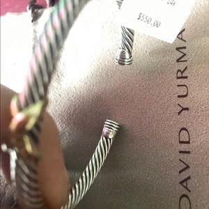 David Yurman X Bracelet